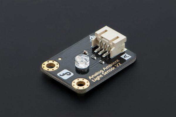 Ambient Light Sensor >> Gravity Analog Ambient Light Sensor For Arduino